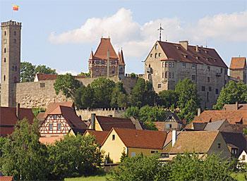 Burg Abenberg - Ansicht von Süden