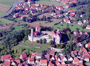 Burg Abenberg - Luftbild